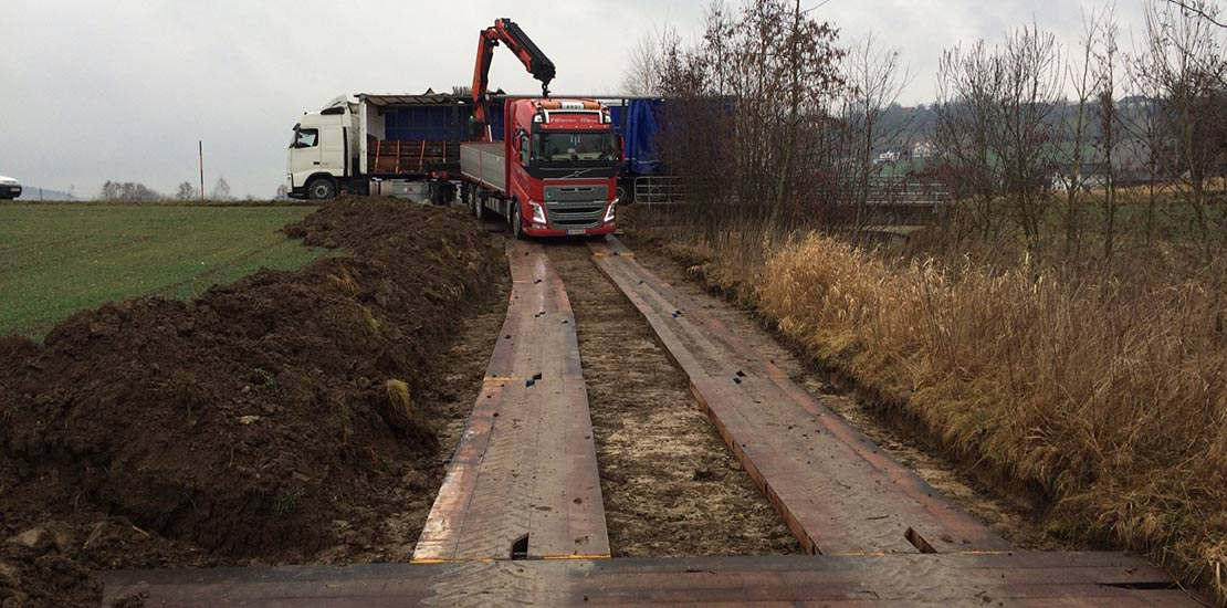 GJ Bog Mats Temporary Access Roadway Solution